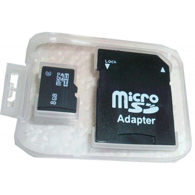 micro carte sd 8 go camera espionnage. Black Bedroom Furniture Sets. Home Design Ideas