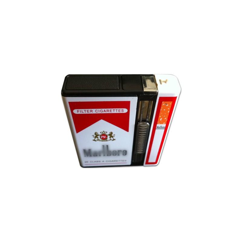Boite A Paquet De Cigarette etui cigarette caméra 4go et briquet - camera espionnage