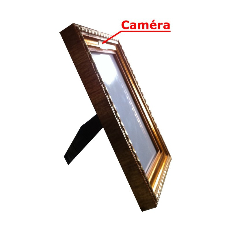 cadre photo camera espion camera espionnage. Black Bedroom Furniture Sets. Home Design Ideas