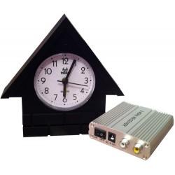 Horloge camera sans fil avec récepteur