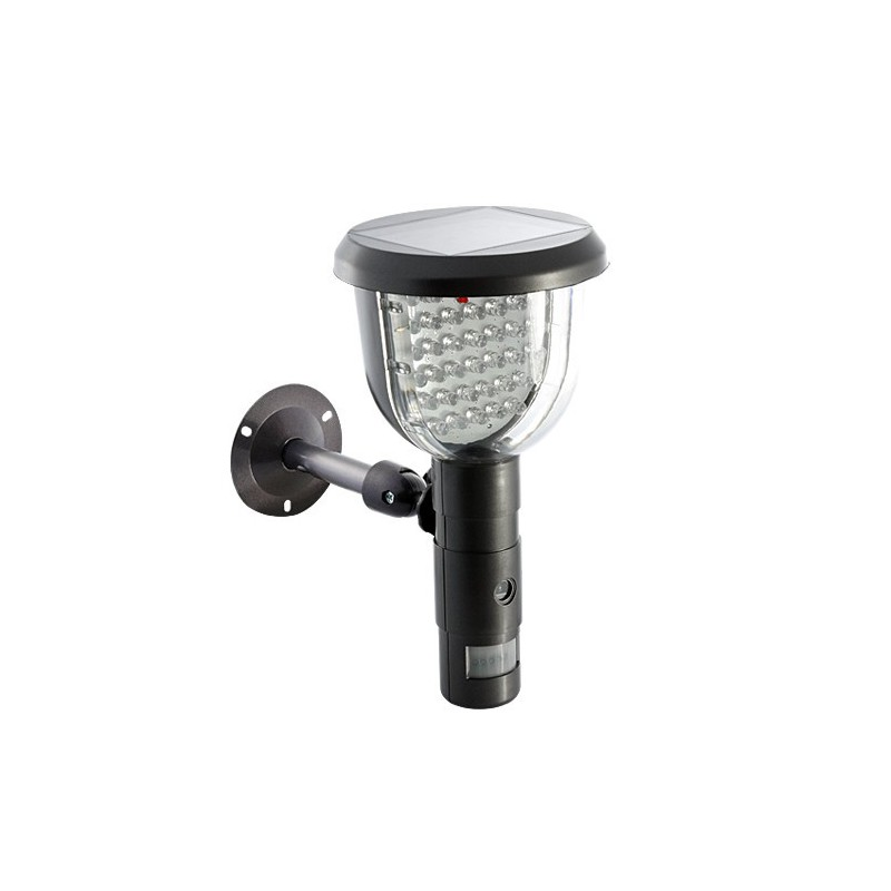 Lampe solaire cam ra infrarouge et d tection de mouvement - Lampe a detection de mouvement ...