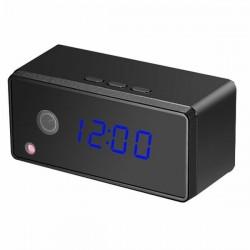 Réveil camera espion Full HD 1080P Wifi vision nocturne et détécteur de mouvement