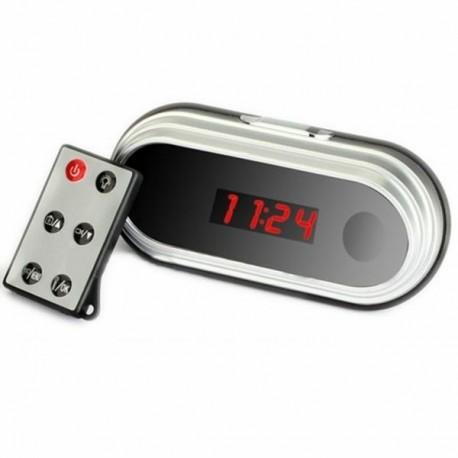 Réveil avec camera espion Full HD 1080P télécommandé et détecteur de mouvement