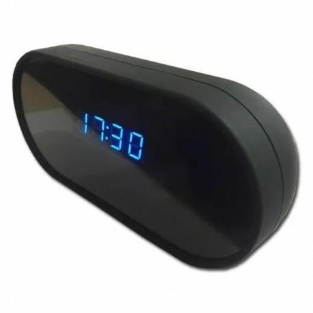 Réveil micro camera espion Full HD 1080P Wifi vision infrarouge et détecteur de mouvement