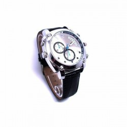 Montre caméra espion HD 1080P 8Go Vision infrarouge waterproof