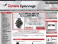 E-COMMERCE : Des cameras avec Camera-Espionnage.com