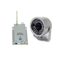 Caméra Surveillance + Récepteur (sans fil)