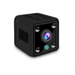 Micro camera 1080P 155° IP WIFI vision nocturne et détection de mouvement