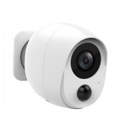 Camera de surveillance batterie IP et Wifi 1080P vision de nuit audio bidirectionnel