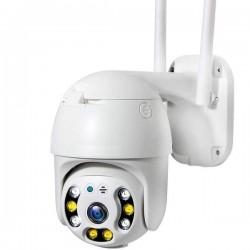 Camera de surveillance à tête rotative IP et Wifi 1080P vision de nuit