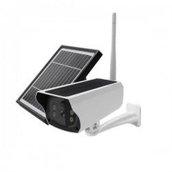Camera de surveillance Solaire Carte SIM 3G et 4G waterproof audio bidirectionnel