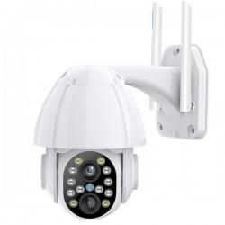 Camera de surveillance Wifi IP 1080P vision de nuit audio bidirectionnel Zoom X4