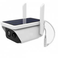 Camera de surveillance solaire Wifi et IP étanche audio bidirectionnel