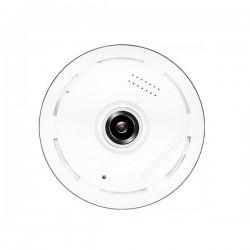 Caméra de surveillance panoramique 360° Wifi IP sans fil vision de nuit