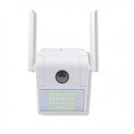 Lampe exterieur camera de surveillance étanche Wifi et IP audio bidirectionnel