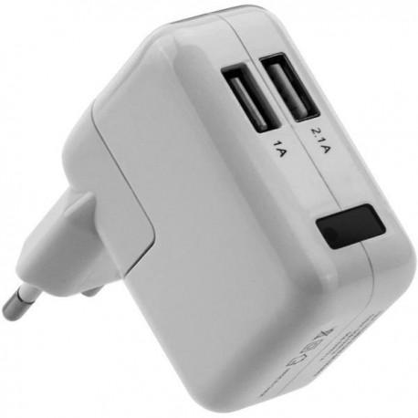 Chargeur USB à 2 ports camera espion 1080P détecteur de mouvement