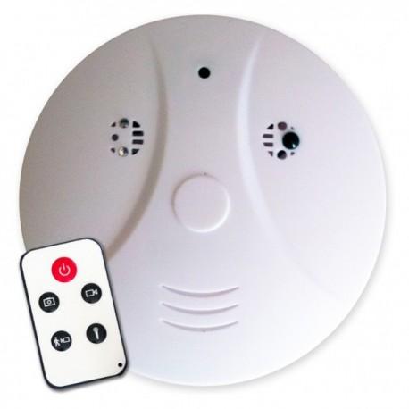 Faux détecteur de fumée 4Go - camera SANS FIL