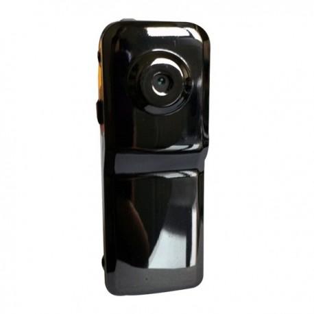 Mini caméra silver et ses accessoires