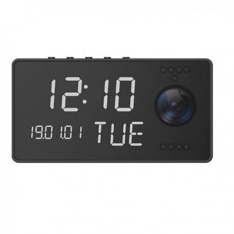 Réveil camera espion Full HD 1080P Wifi vision nocturne audio bidirectionnel