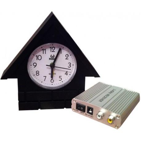 Horloge camera avec récepteur
