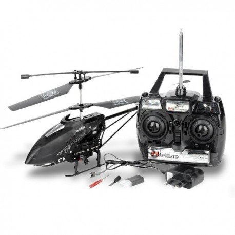 Hélicoptère R/C caméra 43cm 512Mo