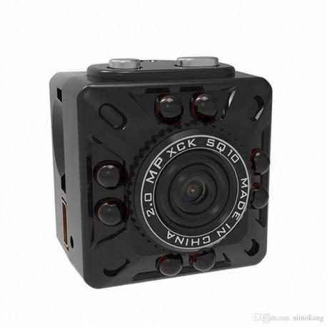 Micro camera espion Full HD 1080P détecteur de mouvement et vision de nuit