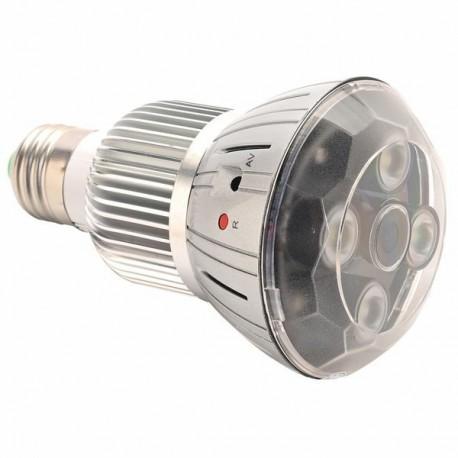 Ampoule micro camera IP Full HD 1080P Wifi détection de mouvement et vision infrarouge