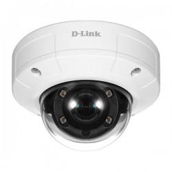 Caméra de sécurité avec dôme de protection et vision de nuit
