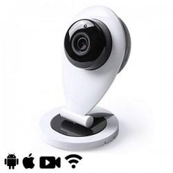 Caméra IP infrarouge pour surveillance à distance et alerte par détection de mouvement