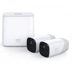 Caméras de sécurité sans fil IP intérieur et extérieur (lot de 2)
