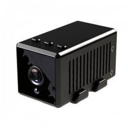 Caméra Miniature WiFi 1920 x 1080P détecteur de mouvement et système audio bidirectionnel