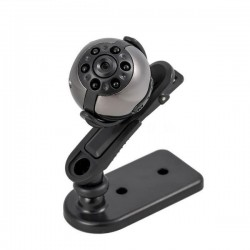 Micro camera Full HD 1080P vision de nuit détection de mouvement ronde métal