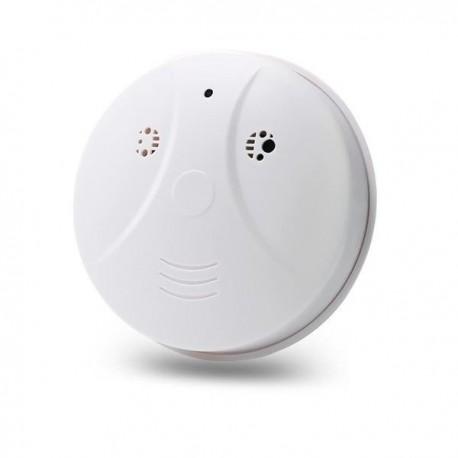 Détecteur de fumée factice rond caméra espion Wifi HD 1080P